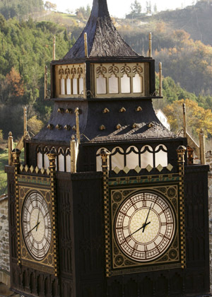 reproduction de Big Ben en chocolat