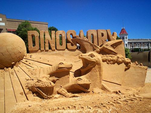 dinosaure sable