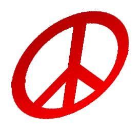 Symbole Peace and Love