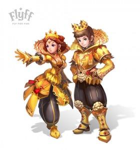 FLYFF MMORPG -le roi et la reine