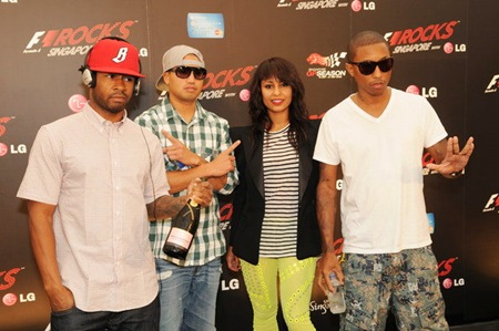 Pharrell Williams Confirme Rhea Comme nouvelle membre de N.E.R.D www.tijuana.fr