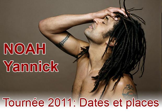 Yannick Noah Tournée 2011