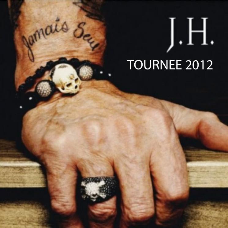 Dates et places de concert de Johnny Hallyday en 2012