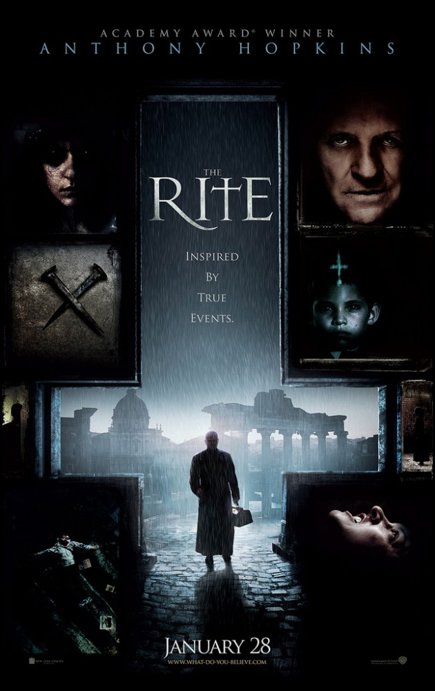 The Rite avec Anthony Hopkins