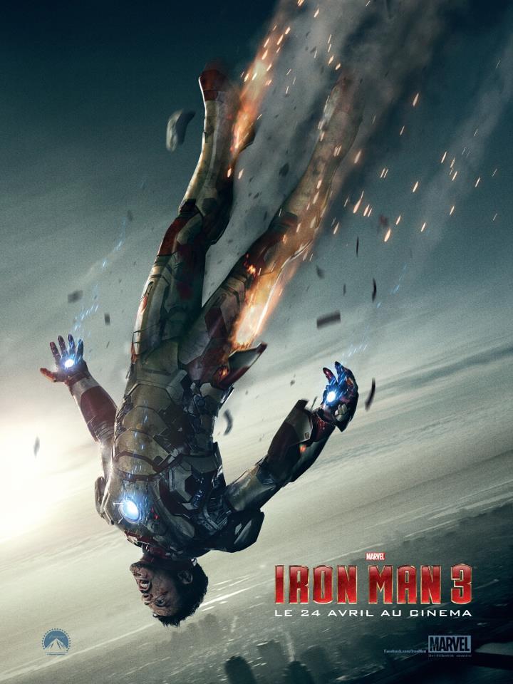 Iron Man 3 affiche poster officiel tijuana.fr raco82