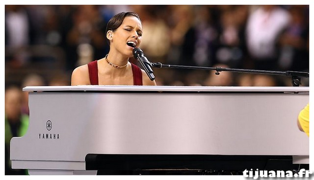 Vidéo Alicia Keys Superbowl hymne national 2013 sing raco82 tijuana.fr
