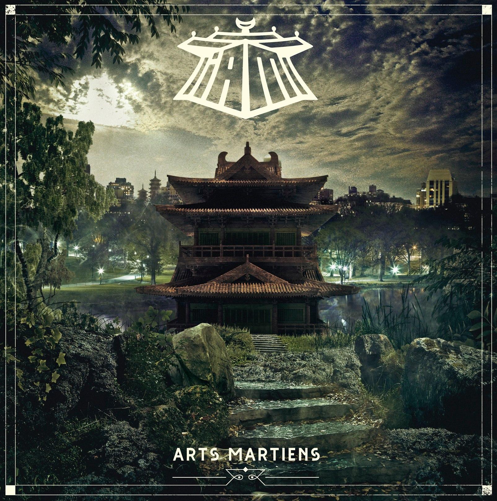 Cover Nouvel Album IAM Arts Martiens raco82 tijuana.fr