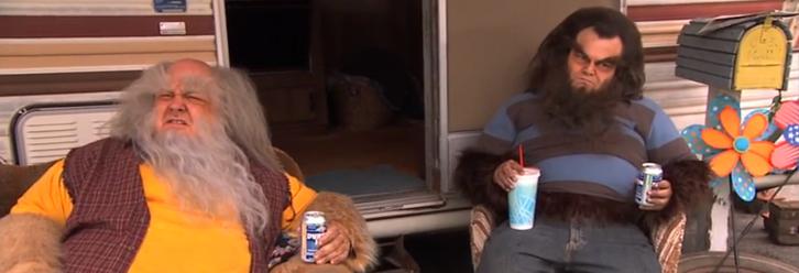 Trailer Adult Wolf avec Jack Black et Kyle Gass Teen Wolf Michael J. Fox tijuana.fr