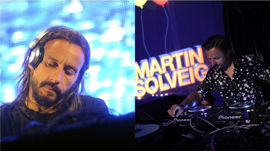 Concert de Bob Sinclar et Martin Solveig lors du Grand Prix de France