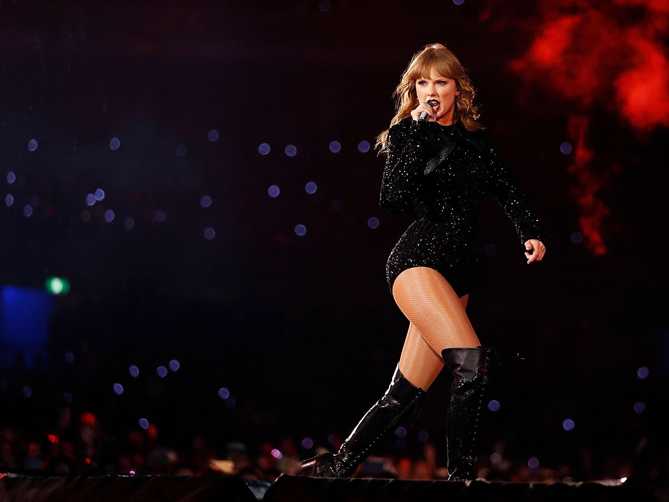 Bientôt une nouvelle tournée pour Taylor Swift